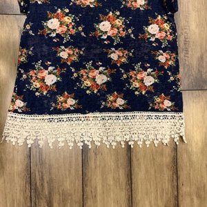 Anthropologie Tops - Mauve Anthropologie Floral Print Blouse